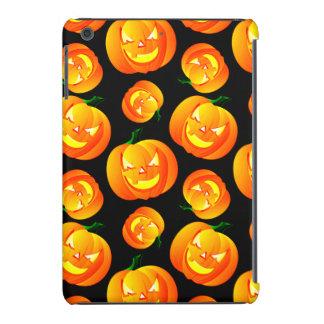 Scary Halloween Pumpkin, Jack-O-Lantern, Black iPad Mini Retina Cover