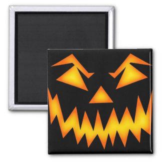 Scary Halloween Pumpkin Refrigerator Magnets