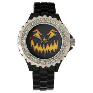 Scary Halloween Pumpkin Watches