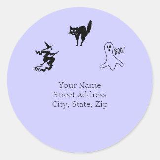 Scary Halloween Sticker