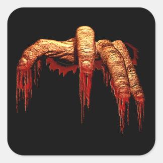 Scary Halloween Stickers Gory Zombie Stickers