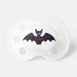 Scary halloween vampire bat baby baby pacifiers