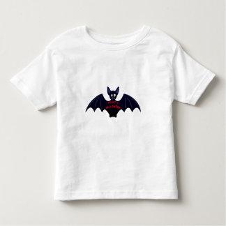 Scary halloween vampire bat toddler shirt