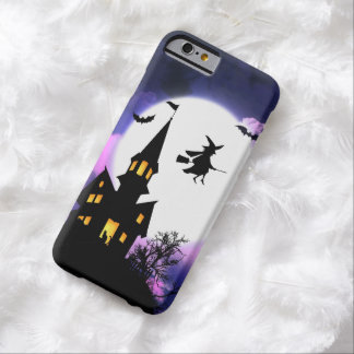 Scary Haunted House  Happy Halloween Barely There iPhone 6 Case