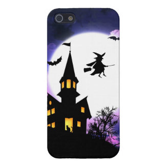 Scary Haunted House  Happy Halloween Case For iPhone 5/5S