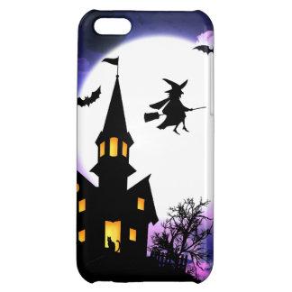 Scary Haunted House  Happy Halloween iPhone 5C Case