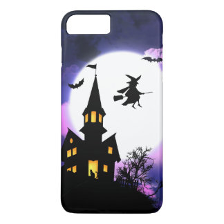 Scary Haunted House Happy Halloween iPhone 7 Plus Case