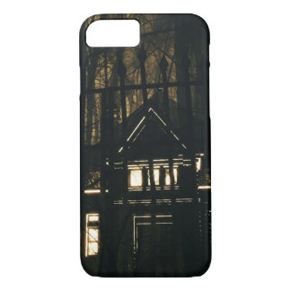 Scary Haunted Supernatural House Halloween Night iPhone 8/7 Case