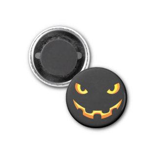 Scary Jack O'Lantern face - Happy Halloween Magnet