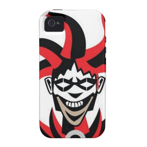 Scary joker design case for the iPhone 4