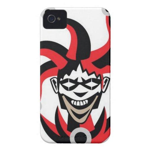 Scary joker design iPhone 4 Case-Mate cases