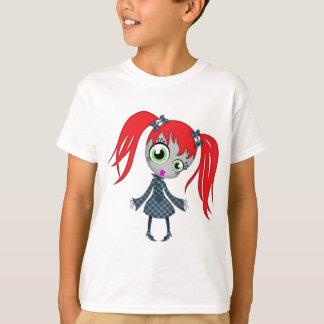 Scary Little Creepy Girl Tee Shirts
