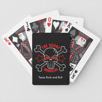 Scary Mondelos Playing Cards