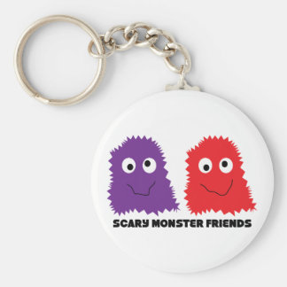 Scary Monster Friends Keychain