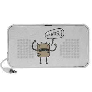 Scary Monster Notebook Speaker