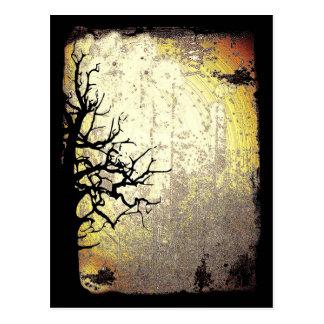 Scary Night Postcard