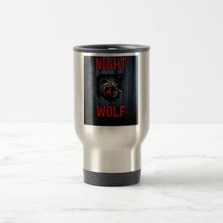 Scary Night Wolf Mug