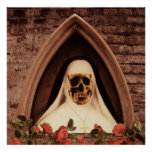 Scary Nun Posterdrucke