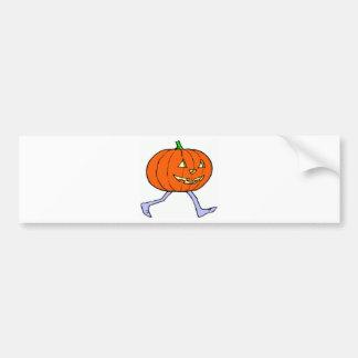 Scary Pumkin Bumper Sticker