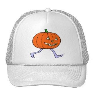 Scary Pumkin Trucker Hats