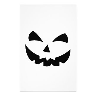 Scary Pumpkin Customised Stationery