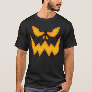 Scary Pumpkin Face T-shirt