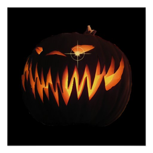 Scary Pumpkin Poster