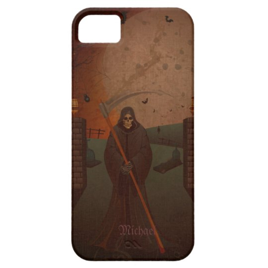 Scary Reaper  Walking Dead Case For The iPhone 5