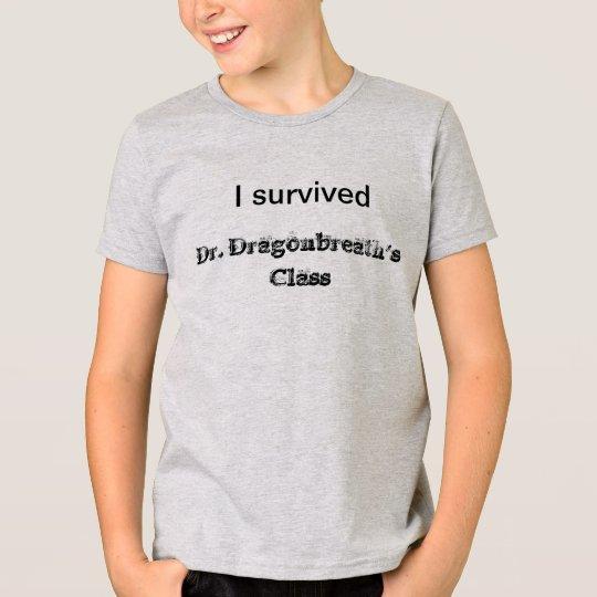 Scary School Dr. Dragonbreath Shirt