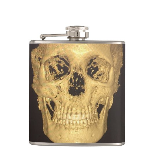 Scary Skull Hip Flask