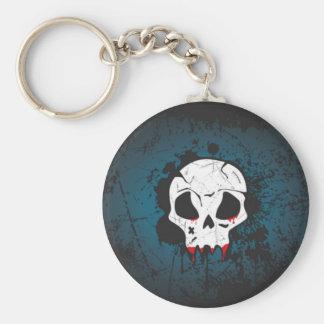 Scary skull keychain