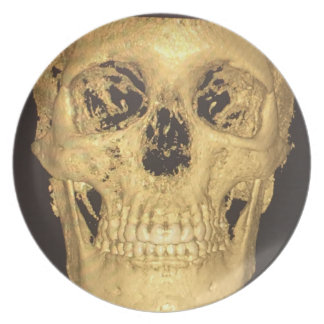 Scary Skull Plate
