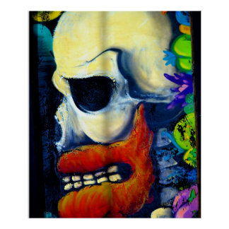 Scary Skull poster