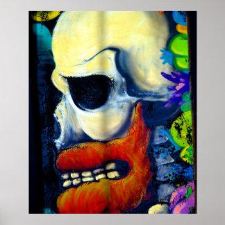 Scary Skull poster