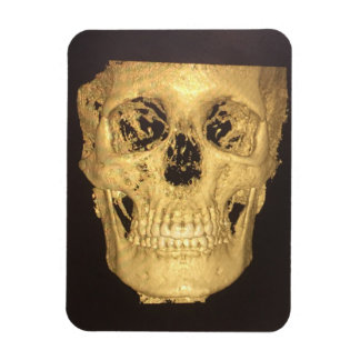 Scary Skull Rectangular Photo Magnet