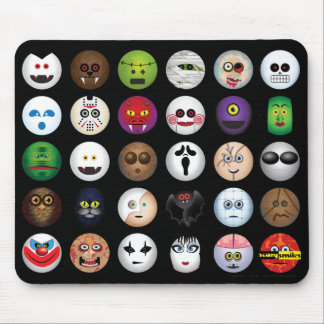 Scary Smiles -  Monsters & cia Mouse Mat