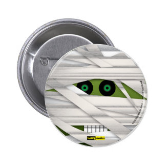 Scary Smiles - The ancient Mummy 6 Cm Round Badge