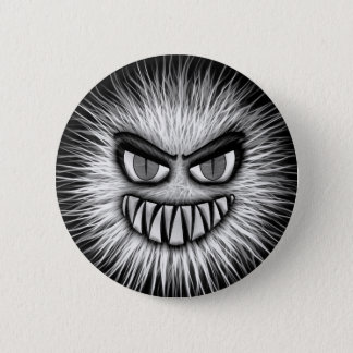 Scary Snowman 6 Cm Round Badge