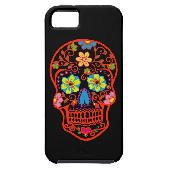 Scary Sugar Skull iPhone 5 Cover