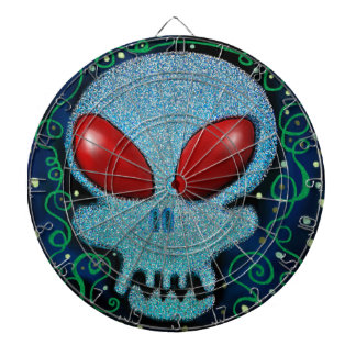 Scary Sunday Skull Dartboard