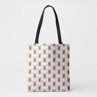 SCARY TOTE SPIDER BAG