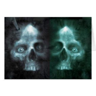 scary Twin Greeting Card