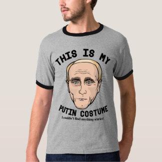 Scary Vladimir Putin Costume T-Shirt