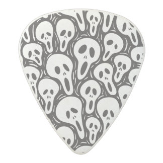 Scary wallpaper acetal guitar pick