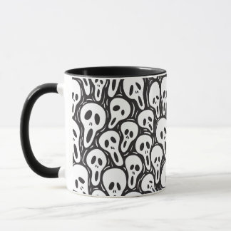 Scary wallpaper mug