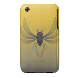 Scary Winged Bug For  Halloween Case-Mate iPhone 3 Cases