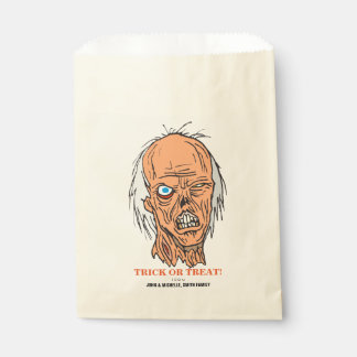 Scary Zombie Trick or Treat Halloween Favour Bags