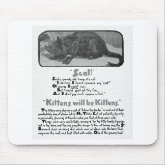 Scat Cat Poem and Artwork Mousepad
