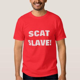 SCAT SLAVE! SHIRT