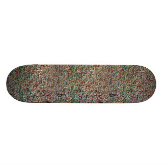 scateboard step ON many chewing gum Custom Skateboard